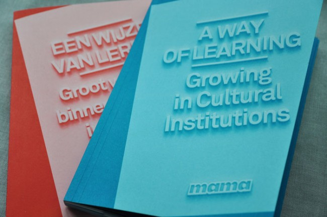A way of Learning. Growing in Cultural Institutions.