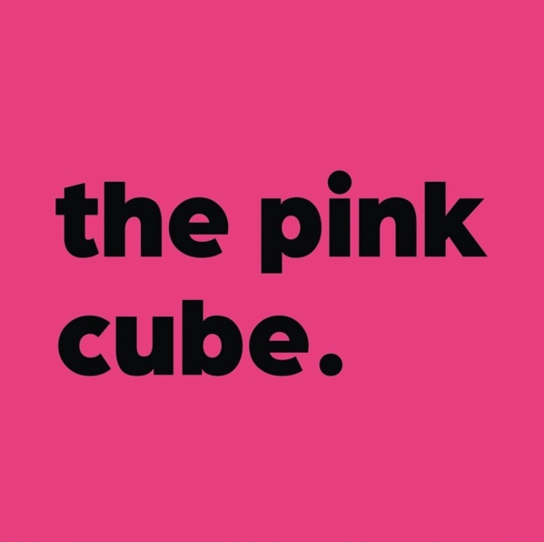 Logo the pink cube